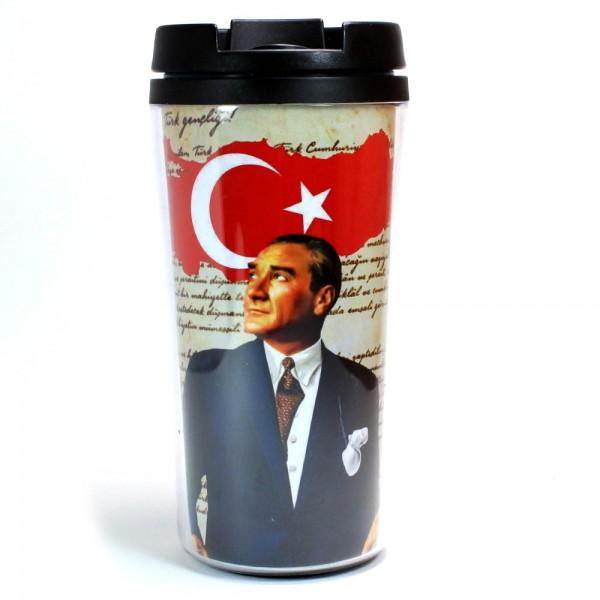 Atatürk & Bayrak Termos Bardak