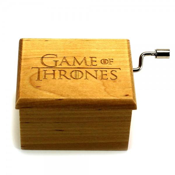 Game Of Thrones Ahşap Müzik Kutusu