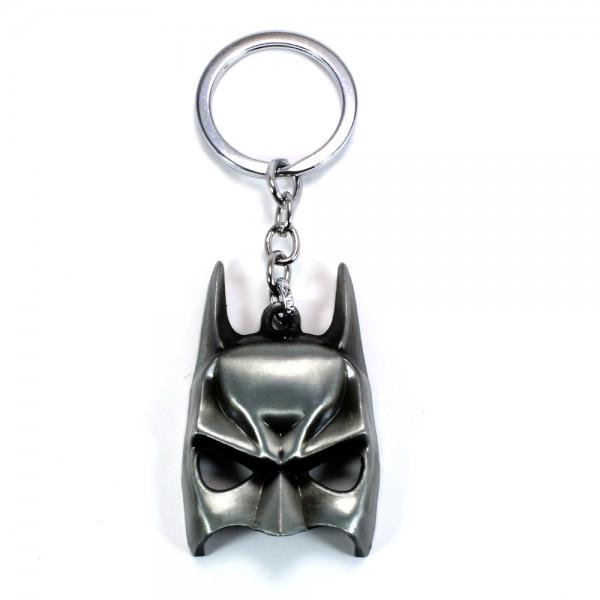 Batman Maskesi Gümüş Renk Anahtarlık