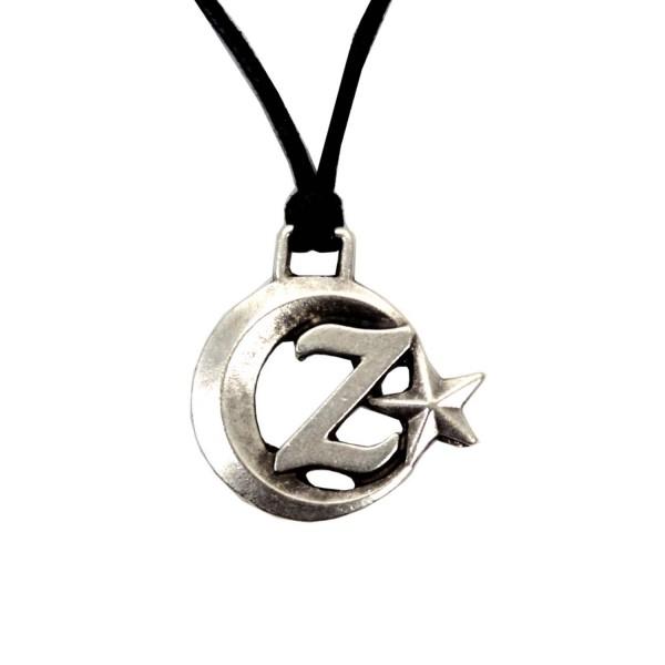 ay yıldız Z harfi kolye