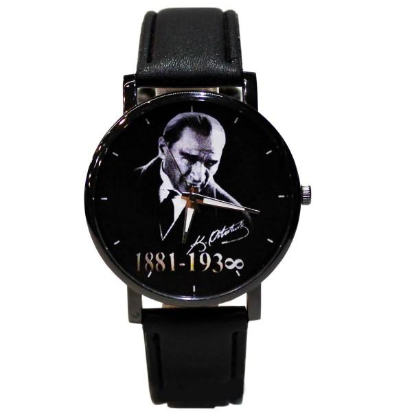 Atatürk 1881-193∞ Deri Kordonlu Kol Saati