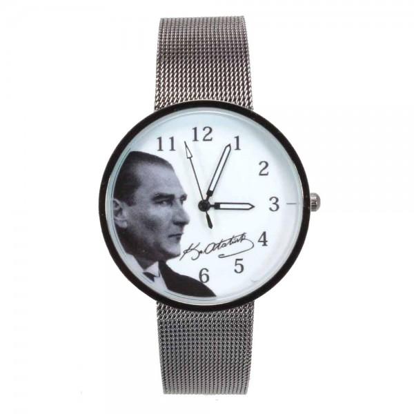 Atatürk Hasır Kordon Kol Saati