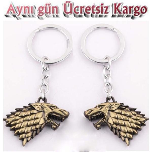 Game Of Thrones Anahtarlık bronz renk